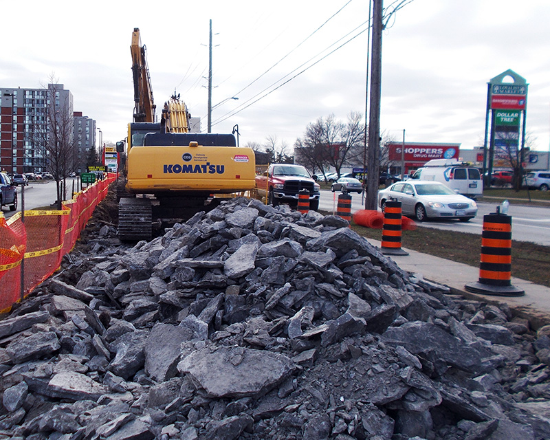 City of Belleville, North East Feedermain & Associated Street Reconstruction